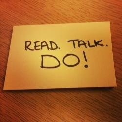 Read Talk Do