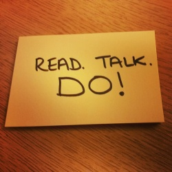 Read Talk Do