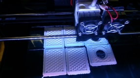 3D printer at work - eppendorff holder by Jean-Etienne Minh-Duy Poirrier on Flickr