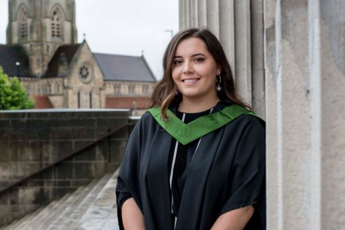 11 July 2017. University of Leeds alumni scholar Niamh Hall.